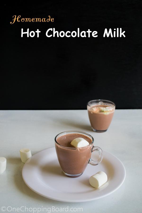 Homemade Hot Chocolate Milk 1