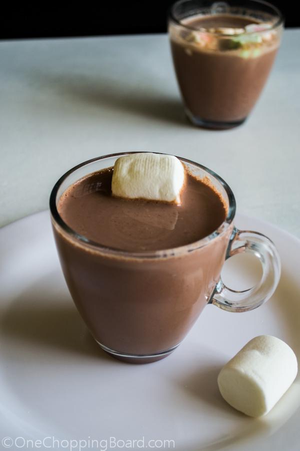 Homemade Hot Chocolate Milk 2