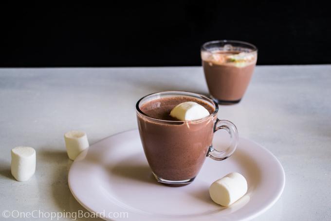 Homemade Hot Chocolate Milk
