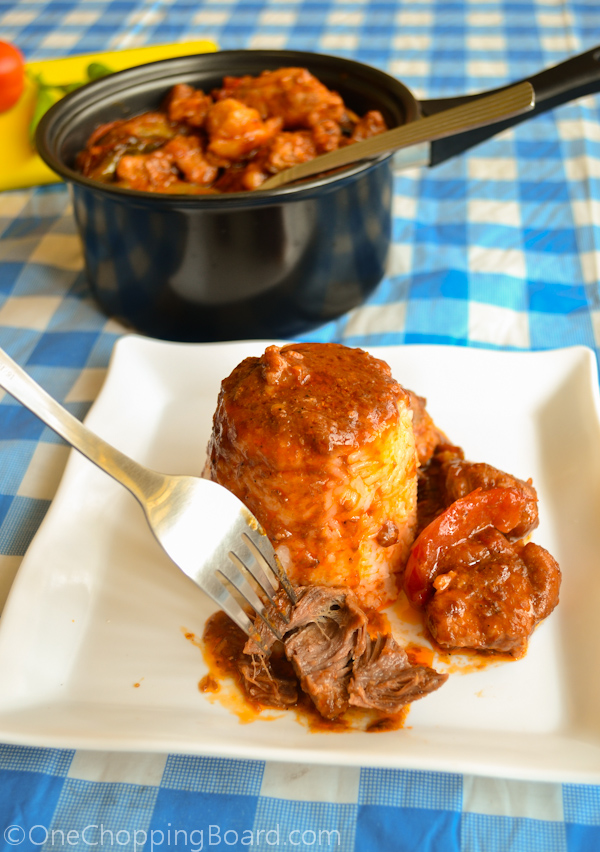 Tender Pork Chunks With Tomato and Shrimp Paste Sauce 2