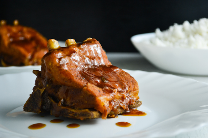 Haoisin-Braised Pork Short Ribs