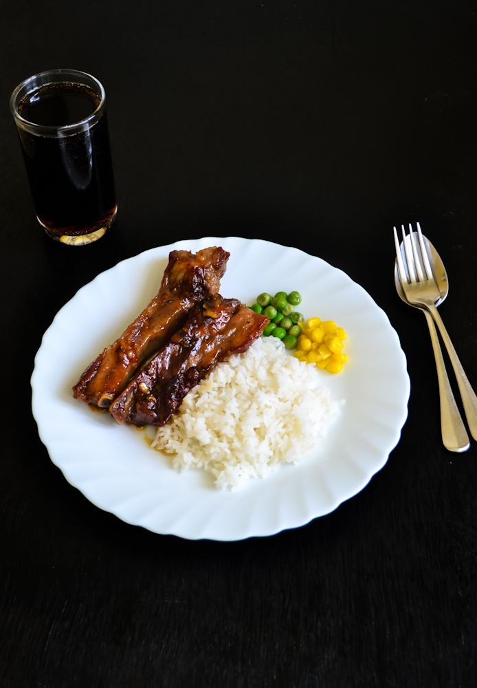 Sweet Orange Marmalade Spareribs 1