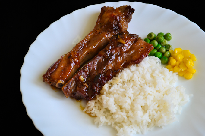 Sweet Orange Marmalade Spareribs