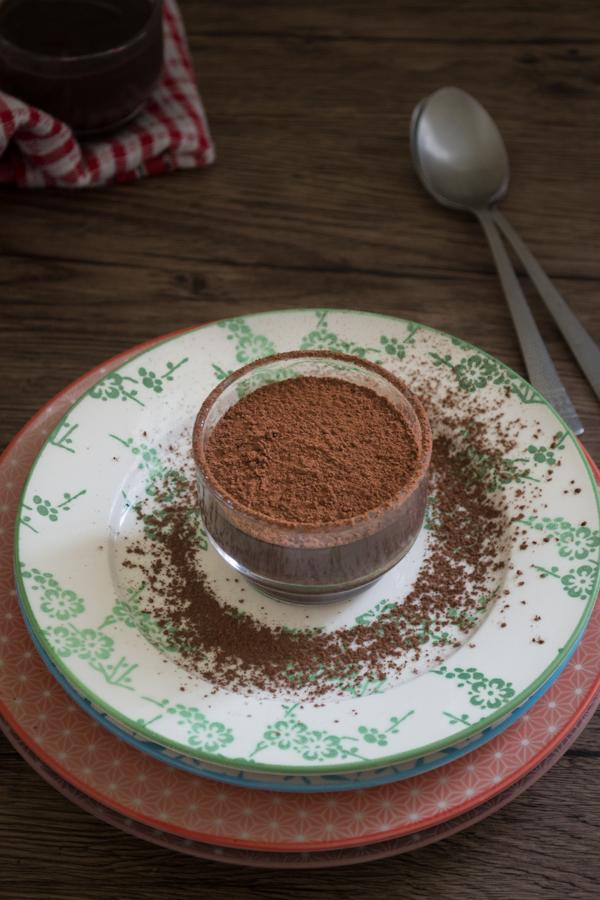 Eggless Chocolate Custard 2