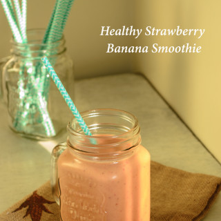 Healthy Strawberry Banana Smothie