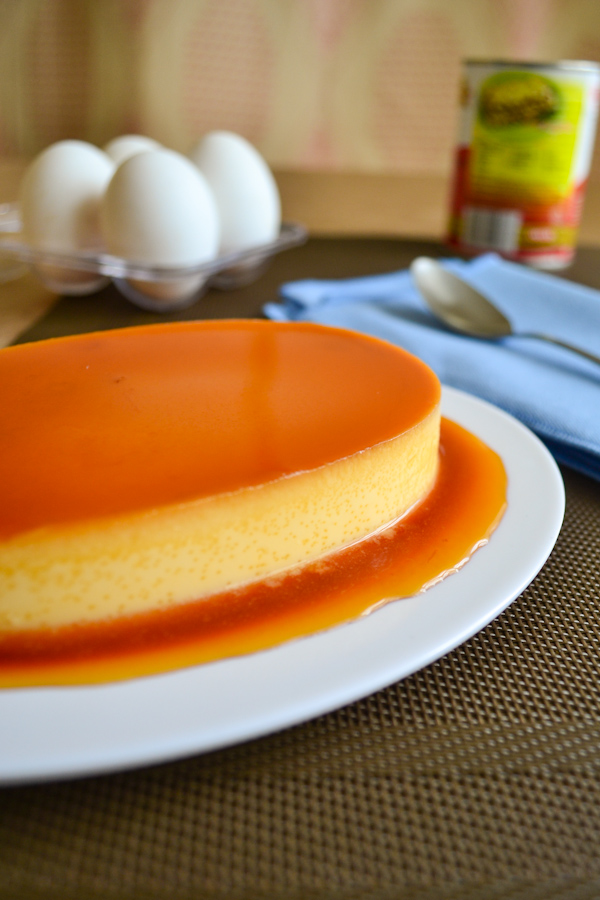 The World's Best Baked Flan Flan Image