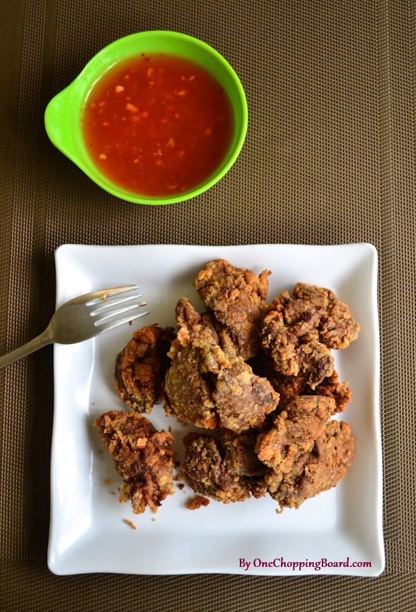 Crispy fried chicken liver one chopping board for Baked chicken liver recipes