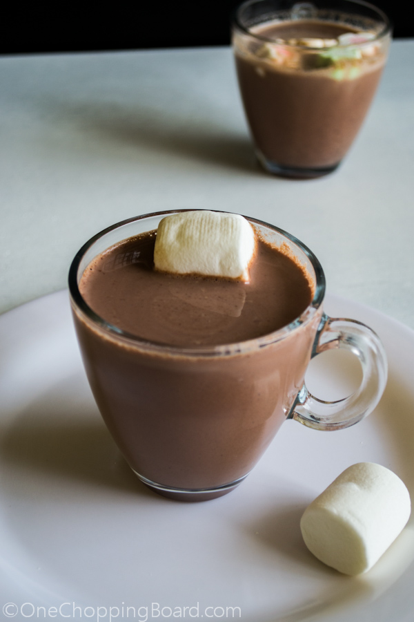 Homemade Hot Chocolate Milk 2