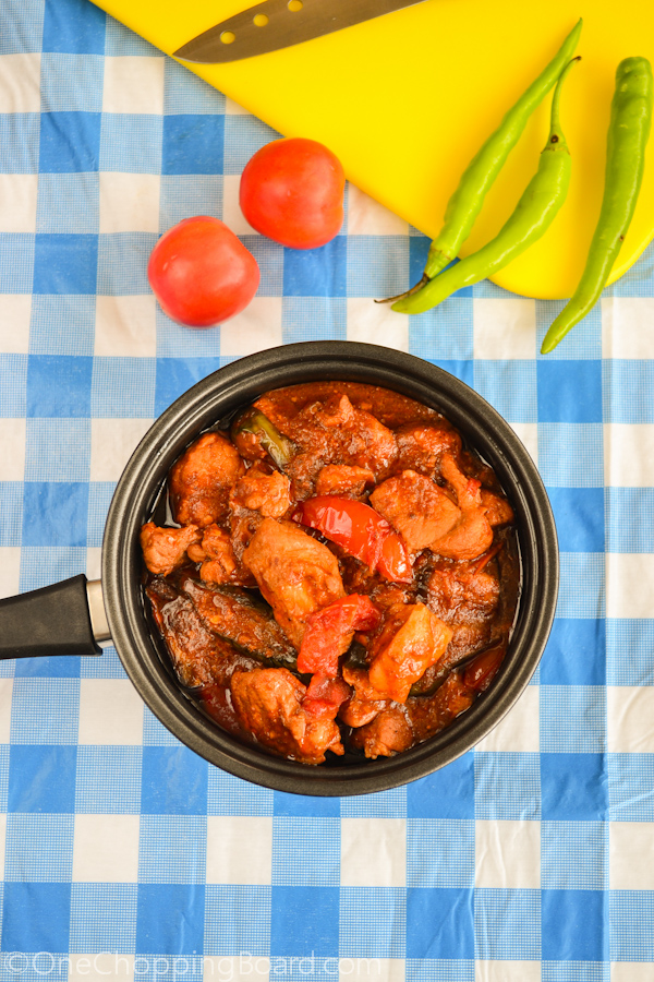 Tender Pork Chunks With Tomato and Shrimp Paste Sauce 1
