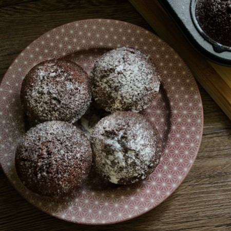 Friands with Chocolate Chips