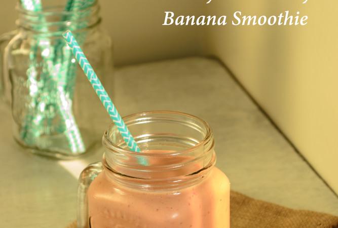 Healthy Strawberry Banana Smothie