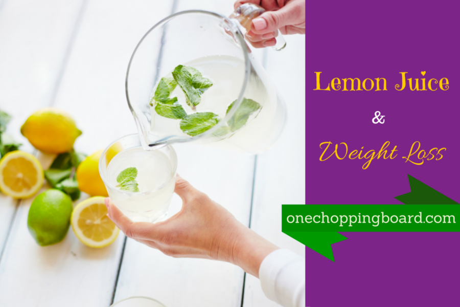 preparing lemon juice